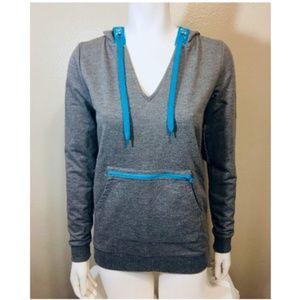 JESSICA SIMPSON XS Jacket Gray Hooded Adjustable